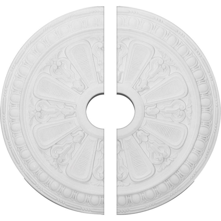 Ekena Millwork Bristol 23.5-in x 23.5-in Urethane Ceiling Medallion