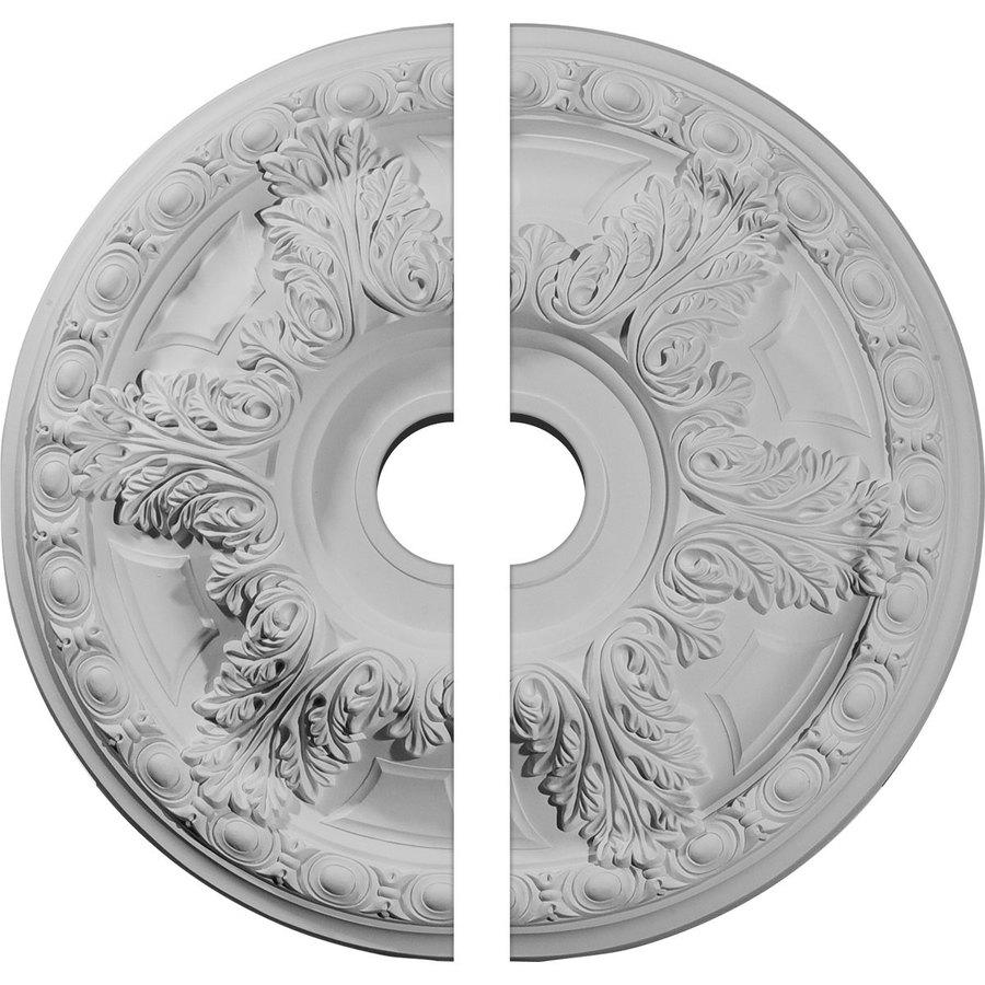 Ekena Millwork Granada 23.375-in x 23.375-in Urethane Ceiling Medallion