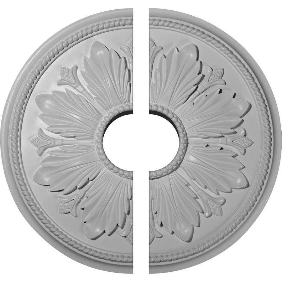 Ekena Millwork Kaya 23.625-in x 23.625-in Urethane Ceiling Medallion