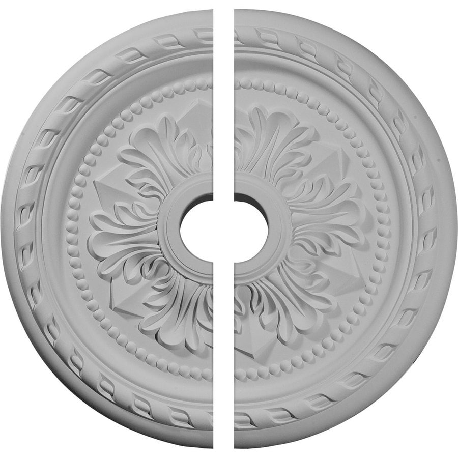 Ekena Millwork Palmetto 23.625-in x 23.625-in Urethane Ceiling Medallion
