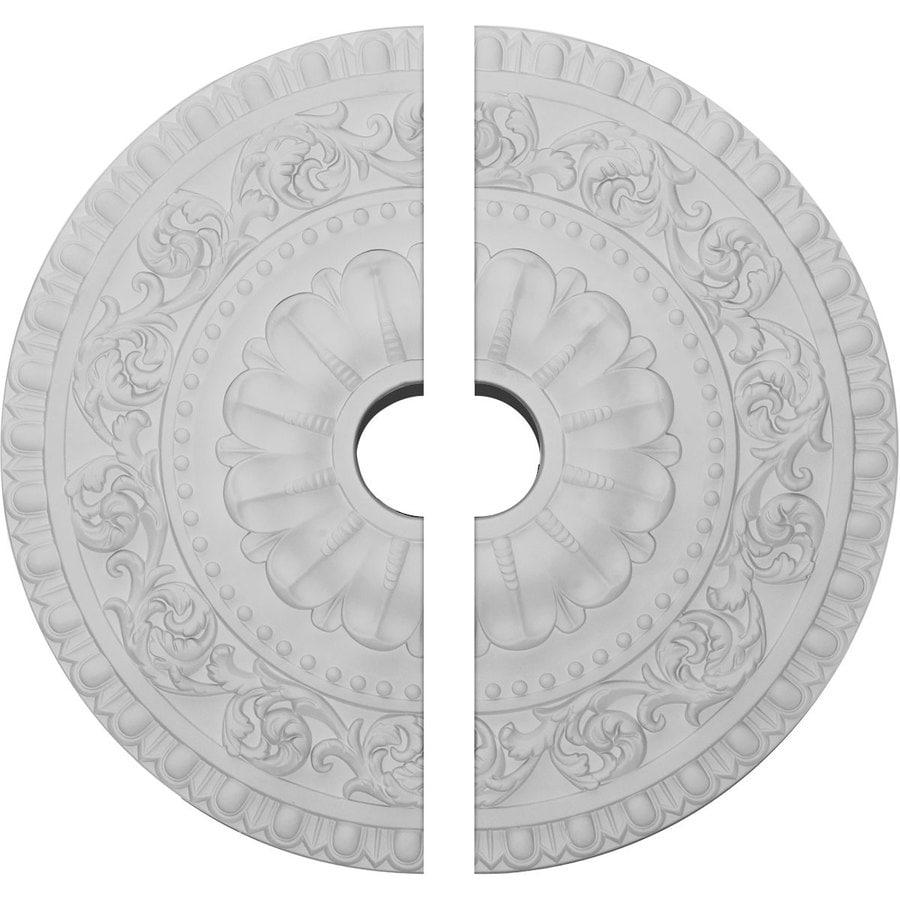 Ekena Millwork Vaduz 23.5-in x 23.5-in Urethane Ceiling Medallion