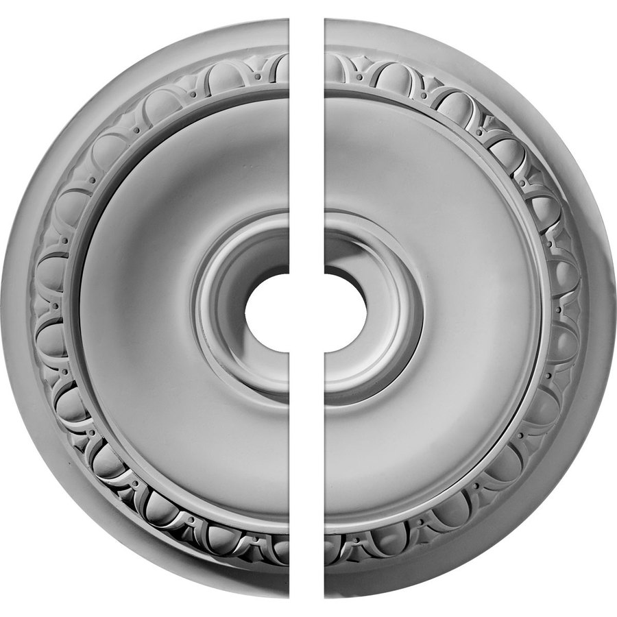 Ekena Millwork Caputo 24.25-in x 24.25-in Urethane Ceiling Medallion