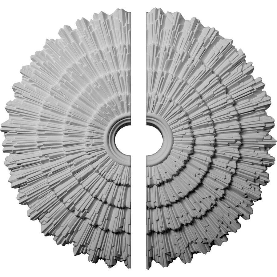 Ekena Millwork Eryn 24.75-in x 24.75-in Urethane Ceiling Medallion