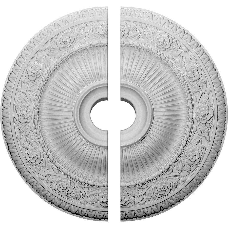 Ekena Millwork Logan 24.25-in x 24.25-in Urethane Ceiling Medallion