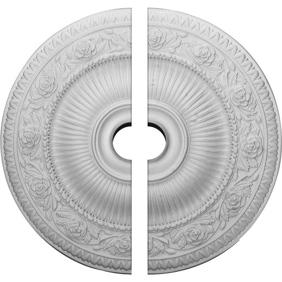 Ekena Millwork Neuveau 24.25-in x 24.25-in Urethane Ceiling Medallion