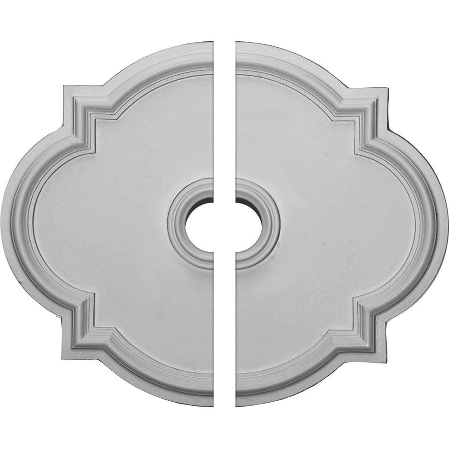 Ekena Millwork Waltz 24-in x 20.5-in Urethane Ceiling Medallion