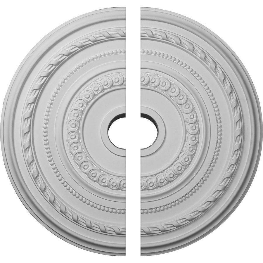 Ekena Millwork Cole 25.375-in x 25.375-in Urethane Ceiling Medallion
