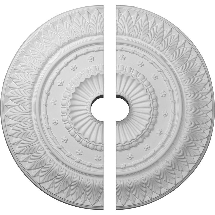 Ekena Millwork Christopher 26.625-in x 26.625-in Urethane Ceiling Medallion