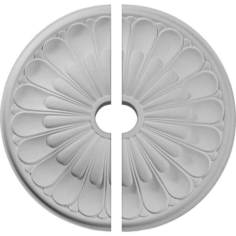 Ekena Millwork Elsinore 26.75-in x 26.75-in Urethane Ceiling Medallion