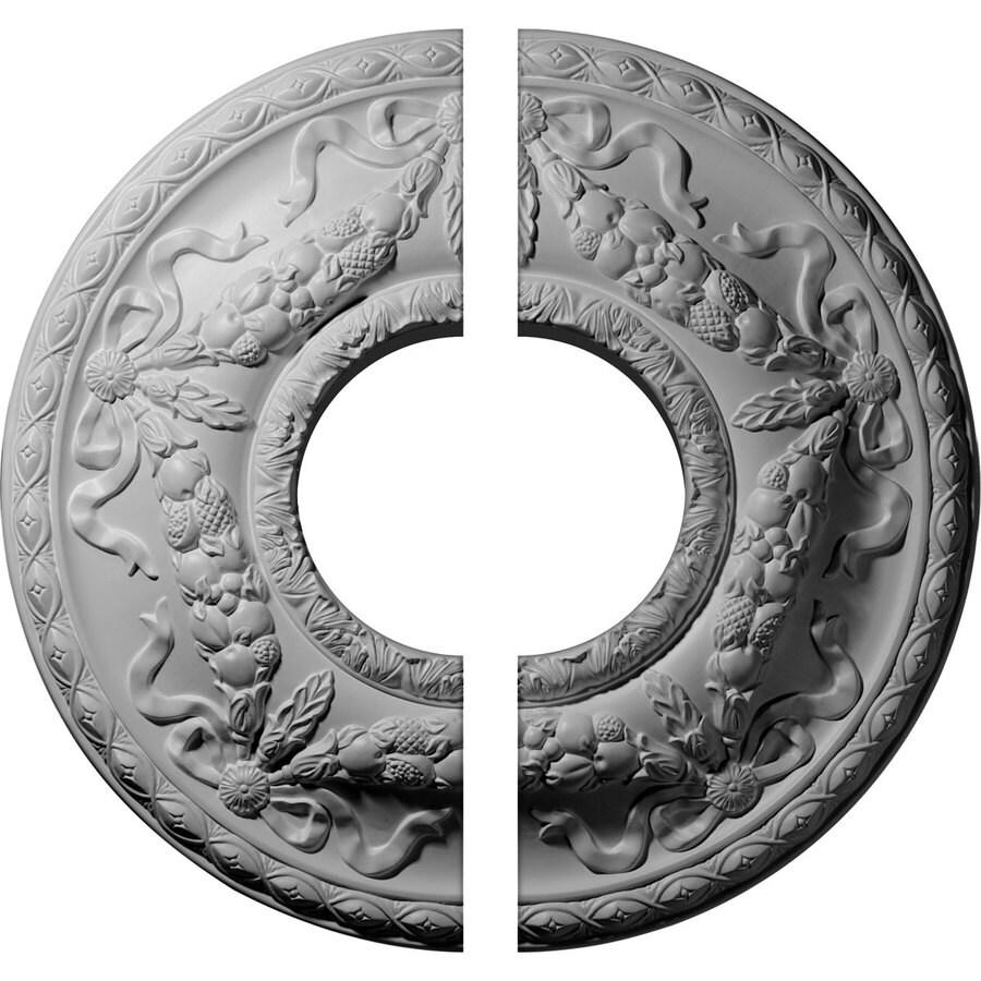 Ekena Millwork Hurley 22.125-in x 22.125-in Urethane Ceiling Medallion