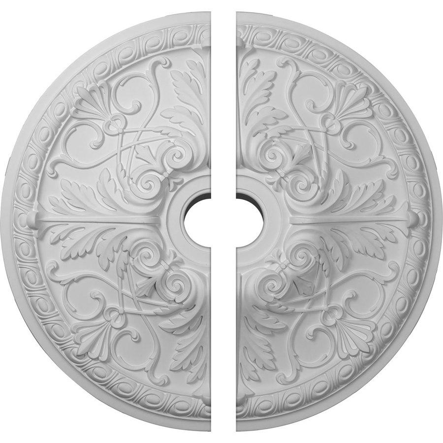 Ekena Millwork Tristan 26-in x 26-in Urethane Ceiling Medallion