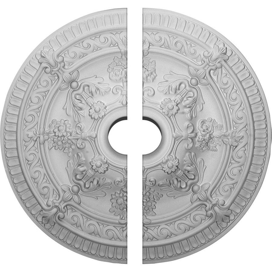 Ekena Millwork Vincent 26-in x 26-in Urethane Ceiling Medallion