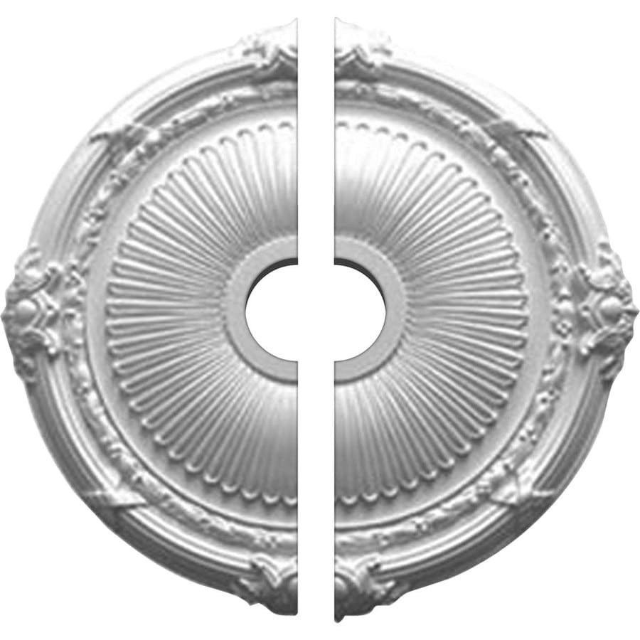 Ekena Millwork Heaton 27.5-in x 27.5-in Urethane Ceiling Medallion