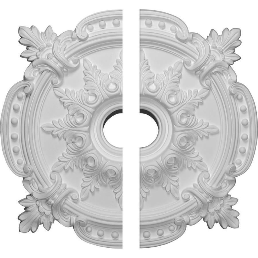 Ekena Millwork Benson Classic 28.375-in x 28.375-in Urethane Ceiling Medallion