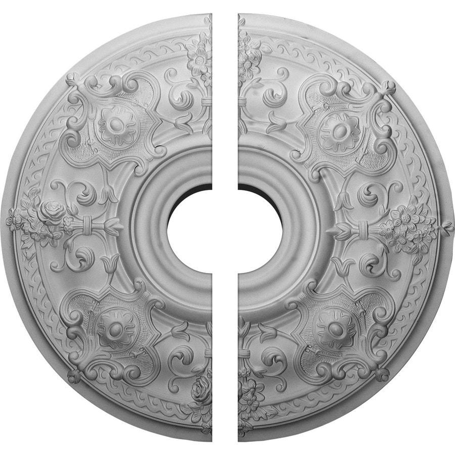 Ekena Millwork Oslo 28.125-in x 28.125-in Urethane Ceiling Medallion