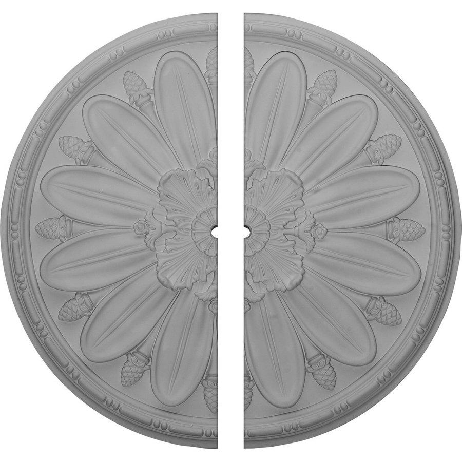 Ekena Millwork Fairfax 29.875-in x 29.875-in Urethane Ceiling Medallion