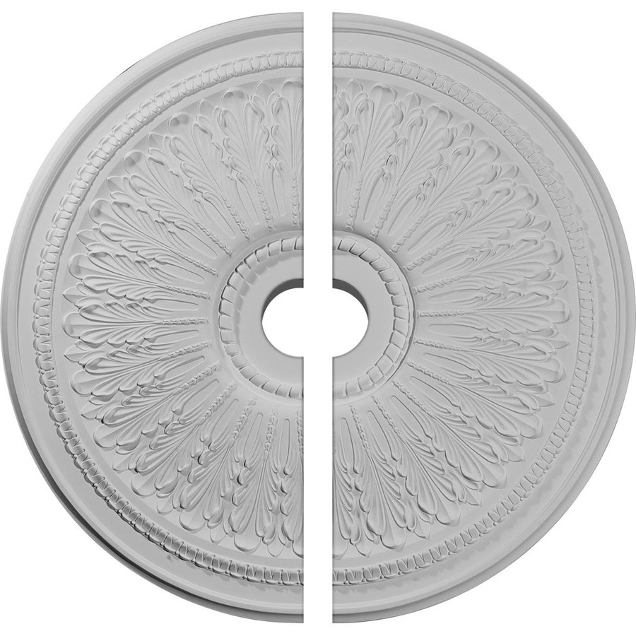 Ekena Millwork Oakleaf 29.125-in x 29.125-in Urethane Ceiling Medallion