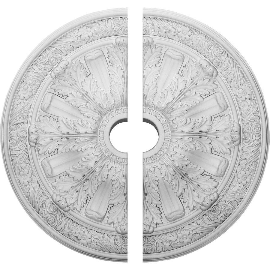 Ekena Millwork Flagstone 30-in x 30-in Urethane Ceiling Medallion