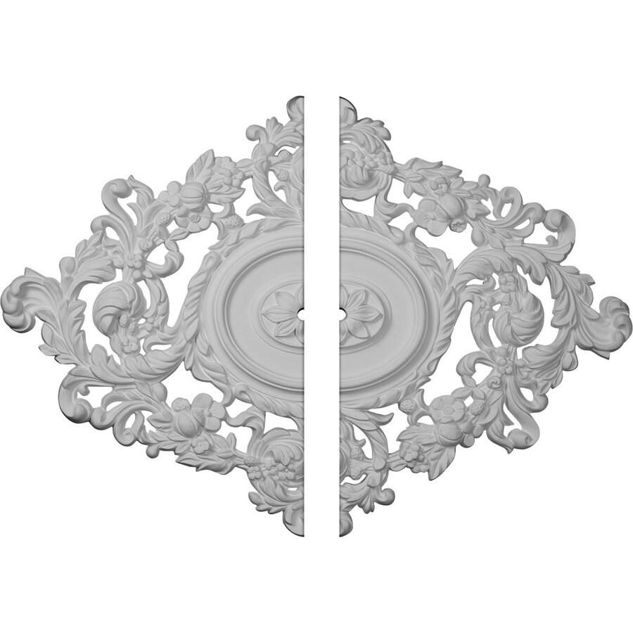 Ekena Millwork Katheryn 22.5-in x 30.375-in Urethane Ceiling Medallion