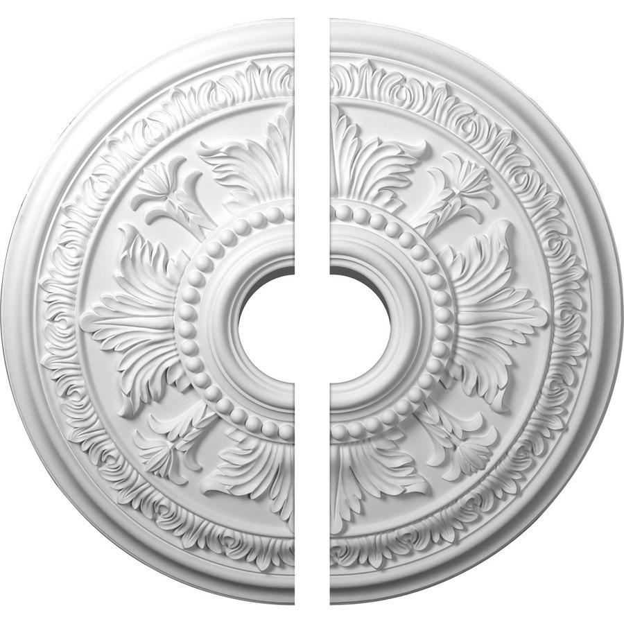 Ekena Millwork Tellson 30.625-in x 30.625-in Urethane Ceiling Medallion