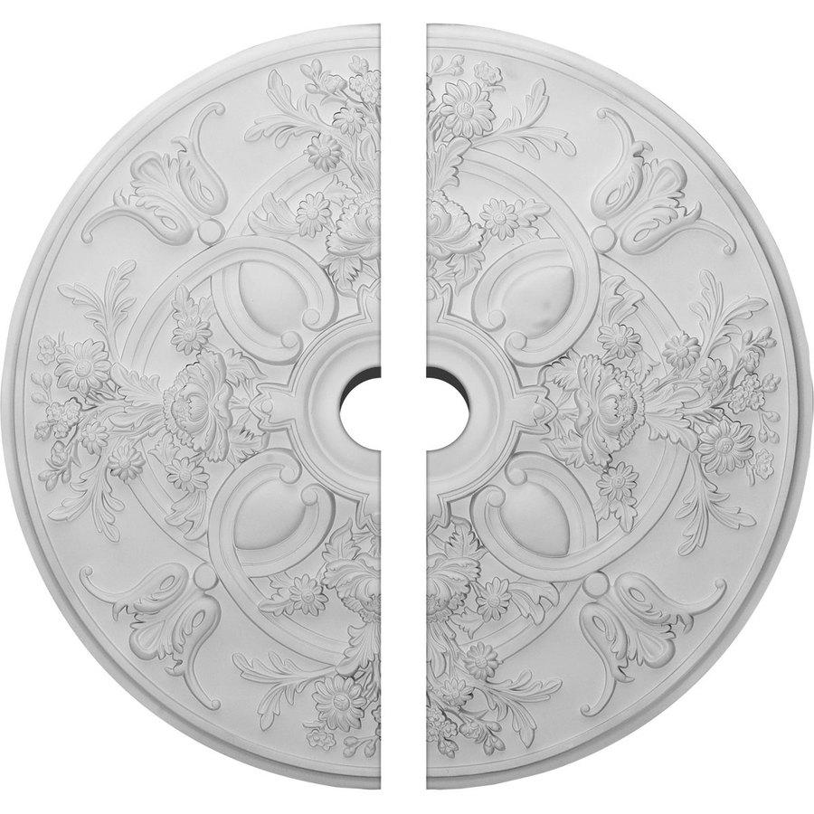 Ekena Millwork Baile 31.25-in x 31.25-in Urethane Ceiling Medallion