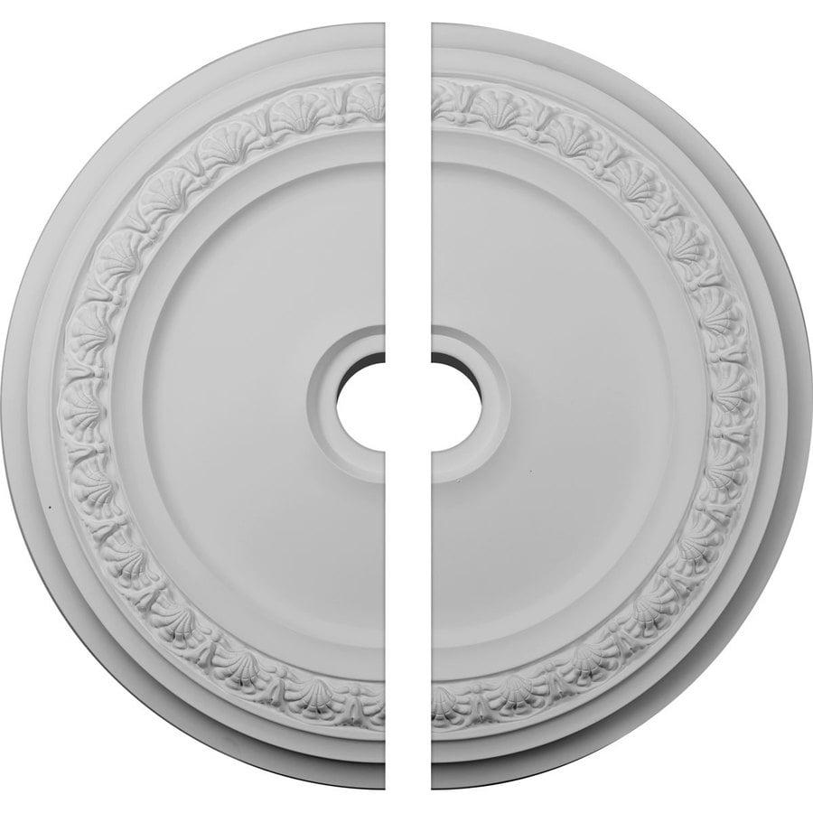 Ekena Millwork Carlsbad 31.125-in x 31.125-in Urethane Ceiling Medallion