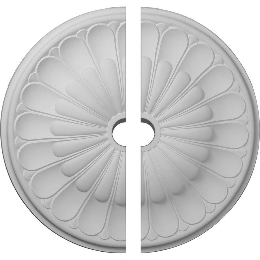 Ekena Millwork Gorleen 31.625-in x 31.625-in Urethane Ceiling Medallion