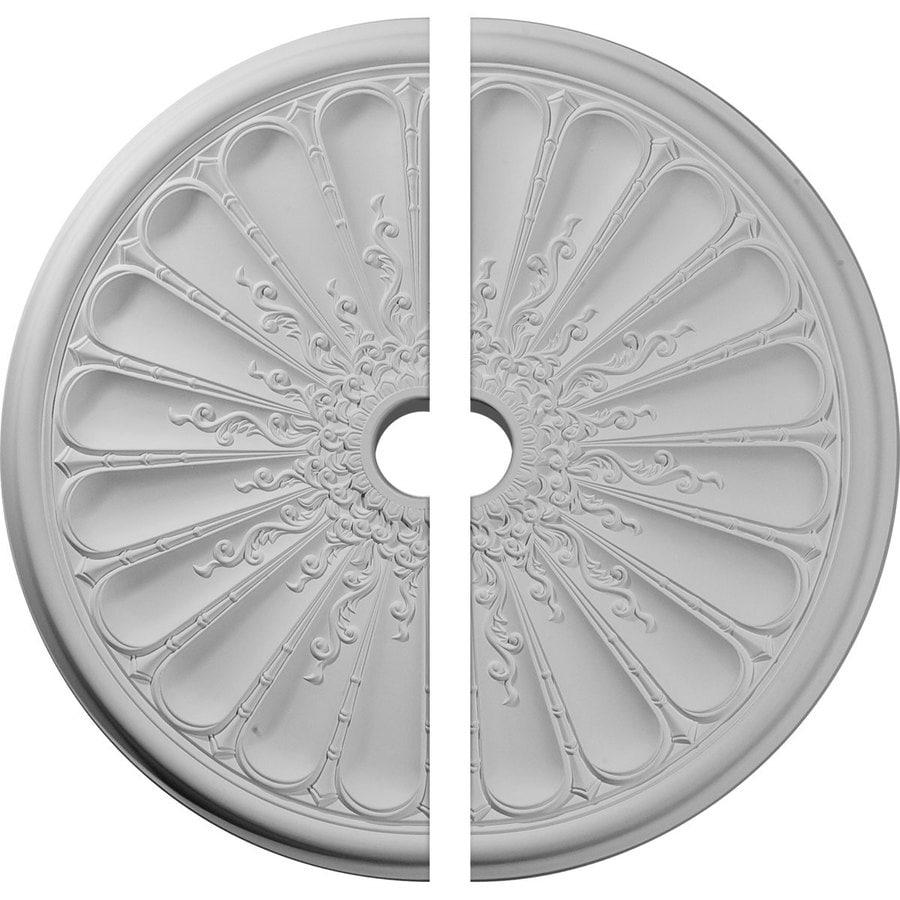 Ekena Millwork Kirke 31.5-in x 31.5-in Urethane Ceiling Medallion