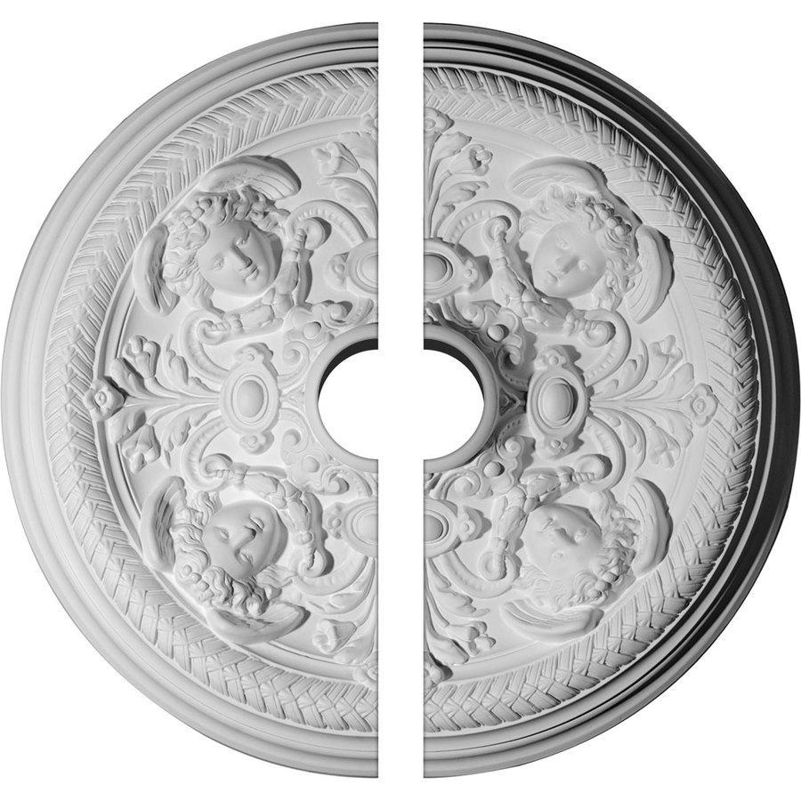 Ekena Millwork Defarge 32.25-in x 32.25-in Urethane Ceiling Medallion