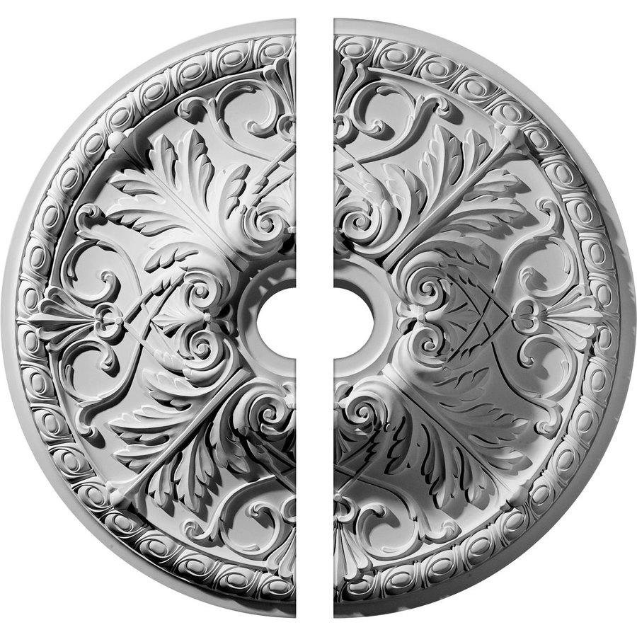 Ekena Millwork Tristan 32.375-in x 32.375-in Urethane Ceiling Medallion