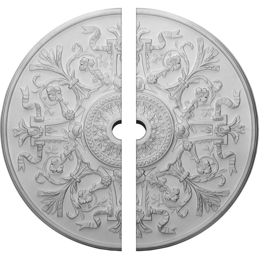 Shop Ekena Millwork Versailles 33-in x 33-in Urethane Ceiling Medallion at Lowes.com