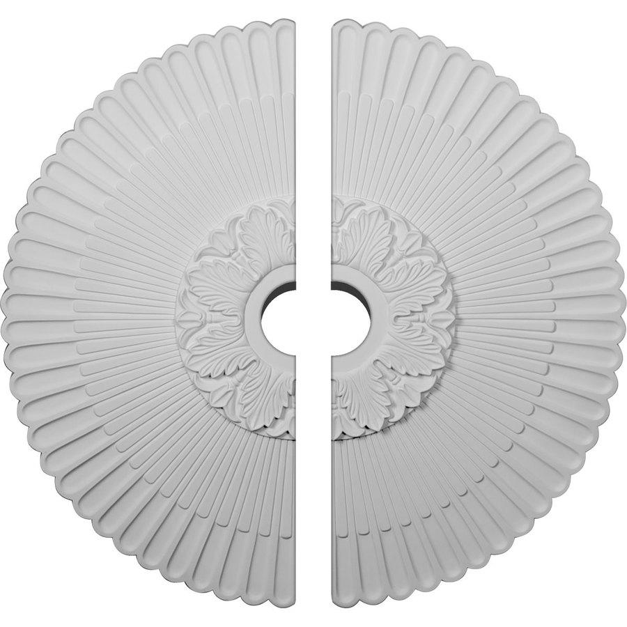 Ekena Millwork Melonie 36.25-in x 36.25-in Urethane Ceiling Medallion