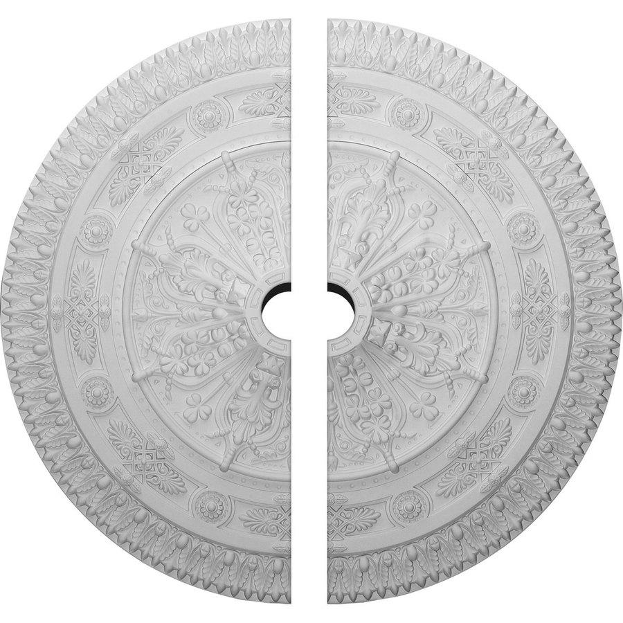 Ekena Millwork Naple 37.5-in x 37.5-in Urethane Ceiling Medallion