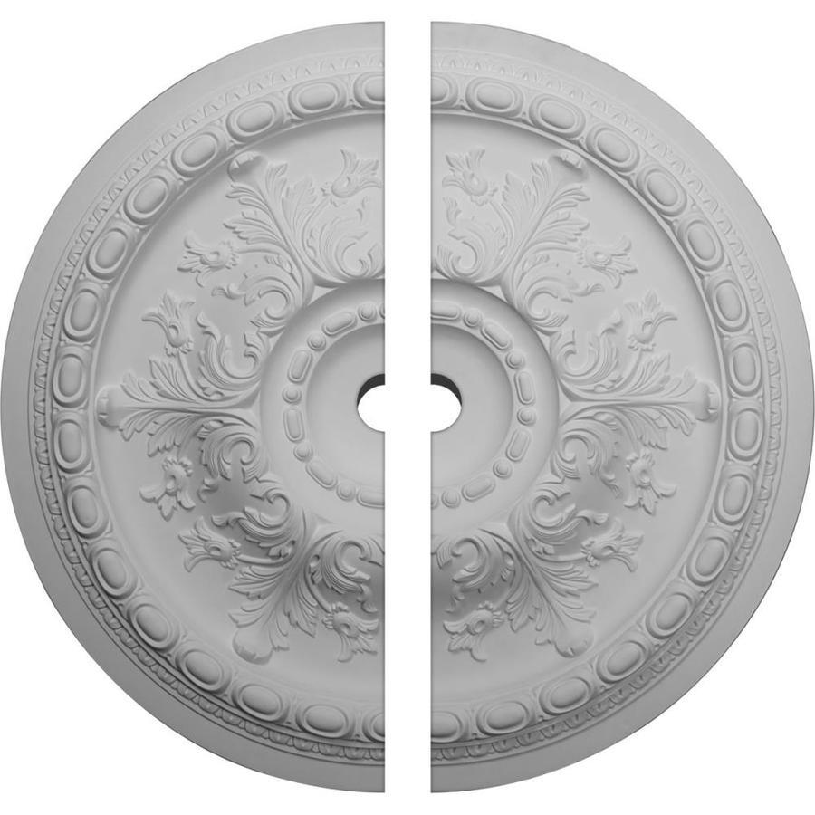 Ekena Millwork Oslo 38.375-in x 38.375-in Urethane Ceiling Medallion