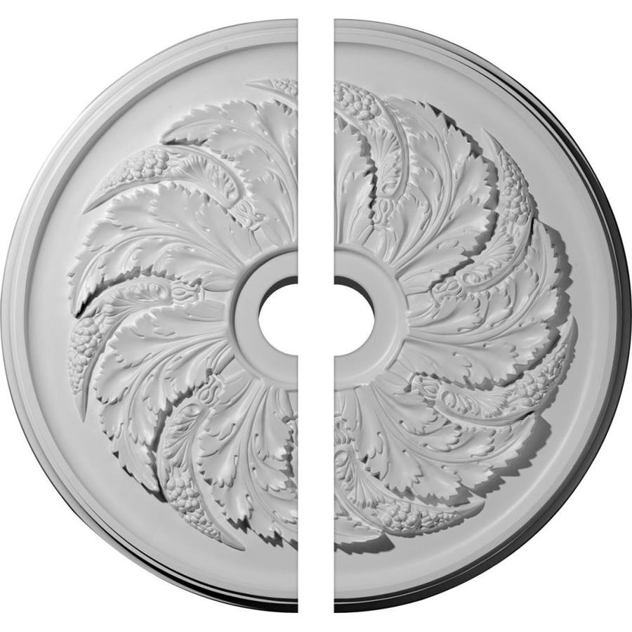 Ekena Millwork Sellek 42.125-in x 42.125-in Urethane Ceiling Medallion