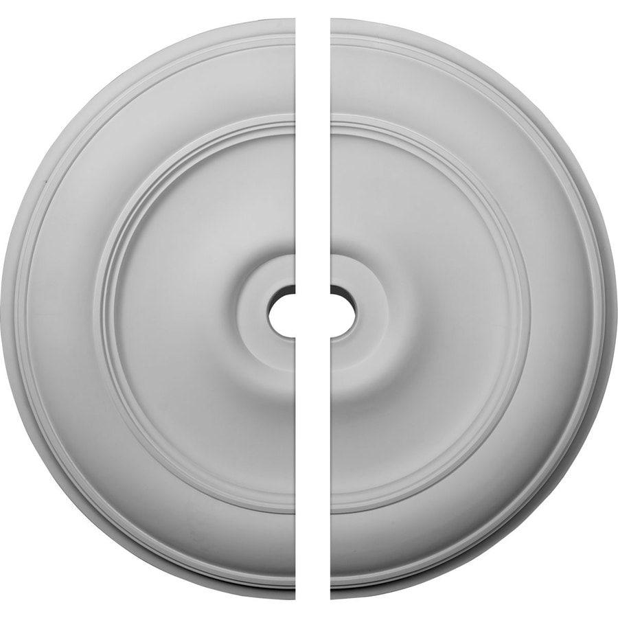 Ekena Millwork Classic 44.5-in x 44.5-in Urethane Ceiling Medallion