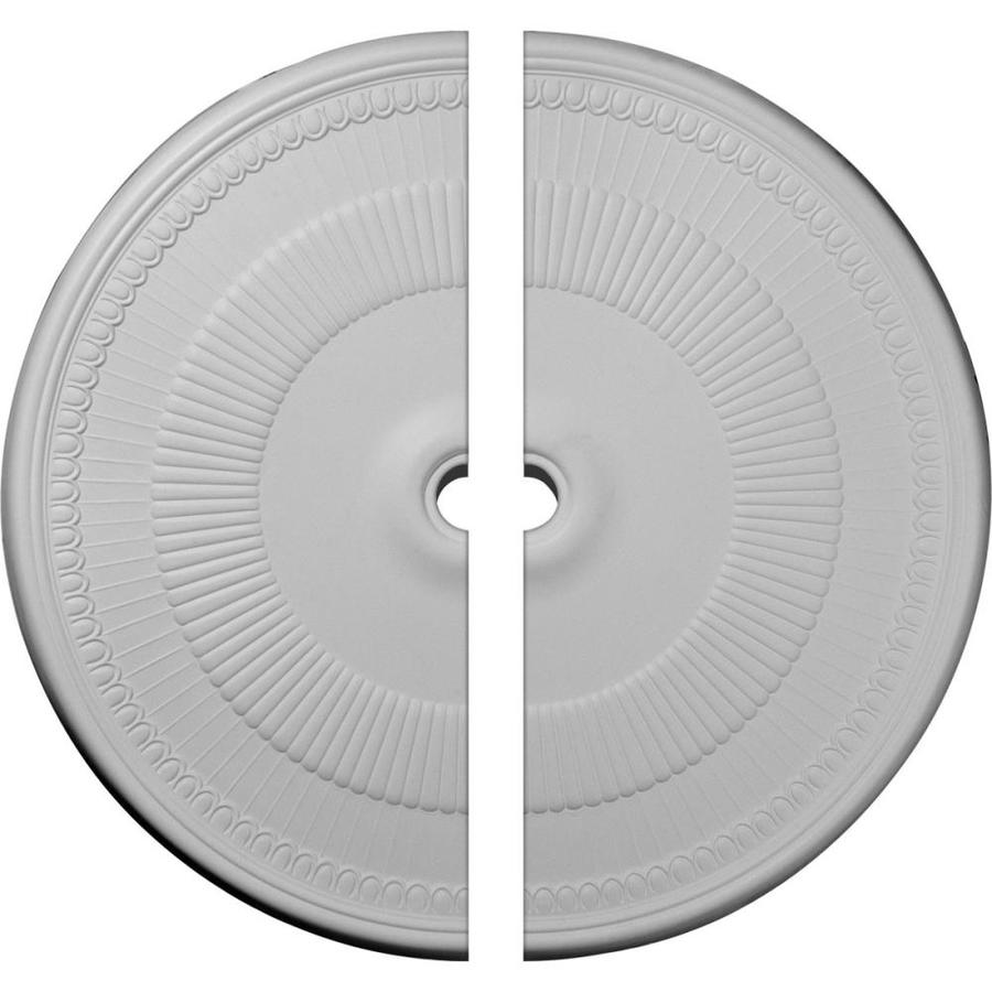 Ekena Millwork Nevio 51.125-in x 51.125-in Urethane Ceiling Medallion