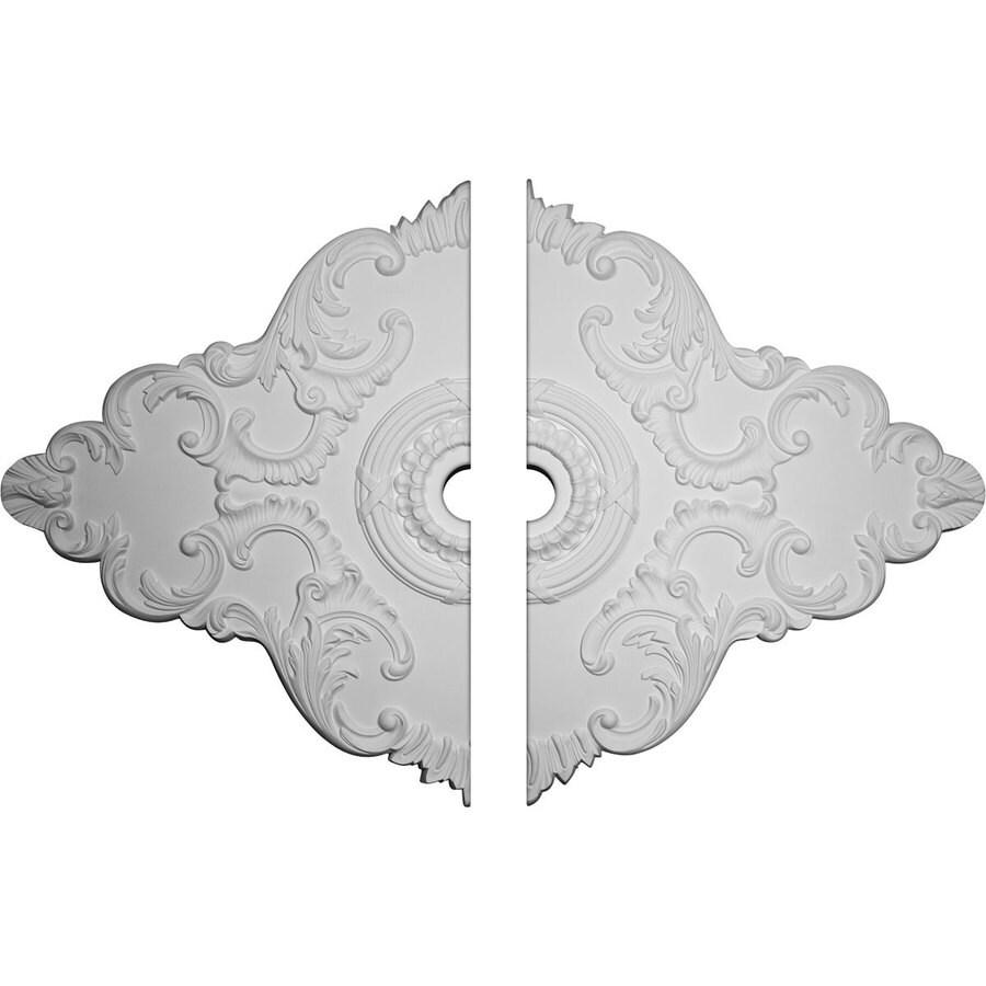 Ekena Millwork Piedmont 67.125-in x 48.625-in Urethane Ceiling Medallion