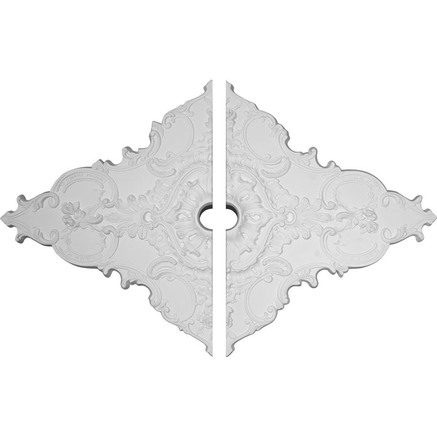 Ekena Millwork Melchor 67.25-in x 43.375-in Urethane Ceiling Medallion
