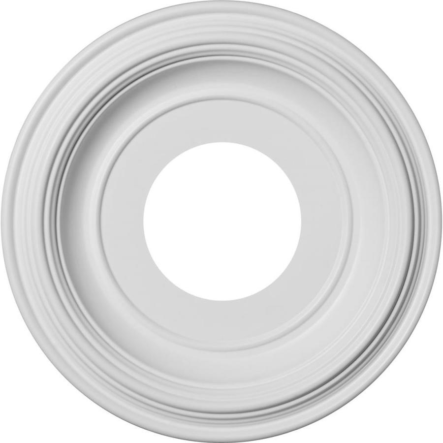 Ekena Millwork Traditional 10-in x 10-in PVC Ceiling Medallion