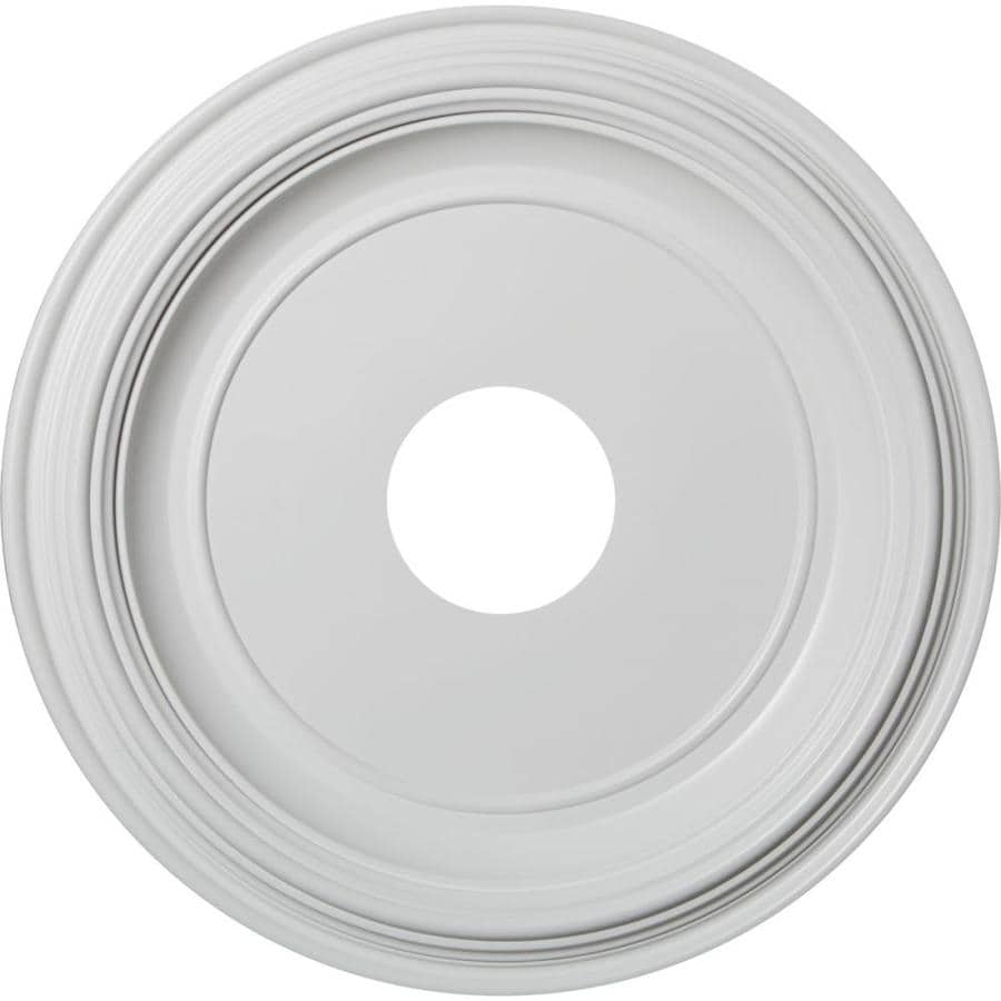Ekena Millwork Traditional 16-in x 16-in PVC Ceiling Medallion