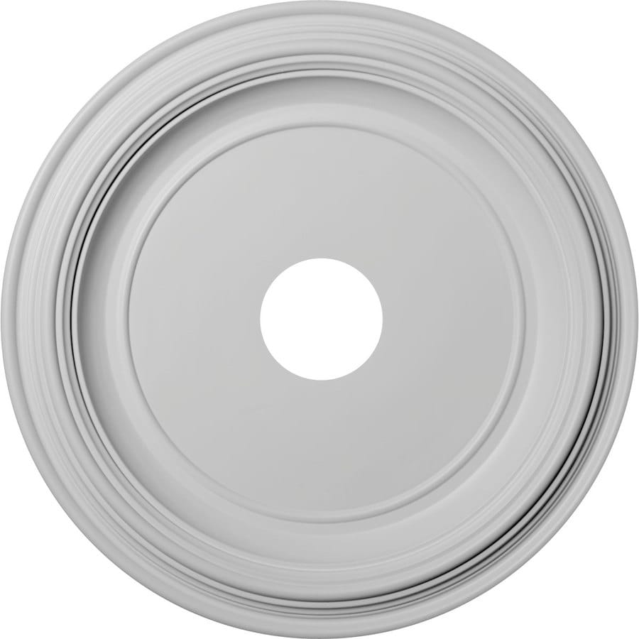 Ekena Millwork Traditional 19-in x 19-in PVC Ceiling Medallion