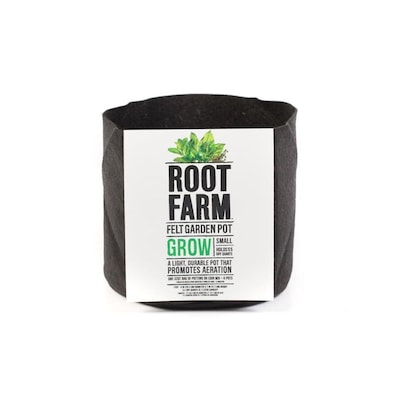 Root Farm Felt Garden Pot At Lowes