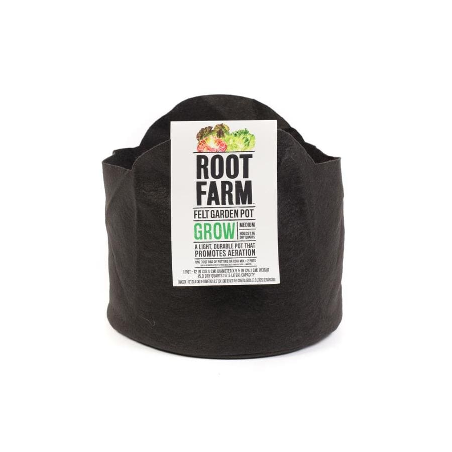 Root Farm Felt Garden Pot