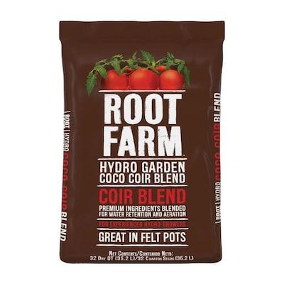 Root Farm 32-Quart Hydro Garden Coco Coir Blend at Lowes com