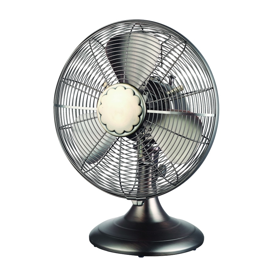 Shop Cozy Breeze 12 In 3 Speed Oscillation Desk Fan At