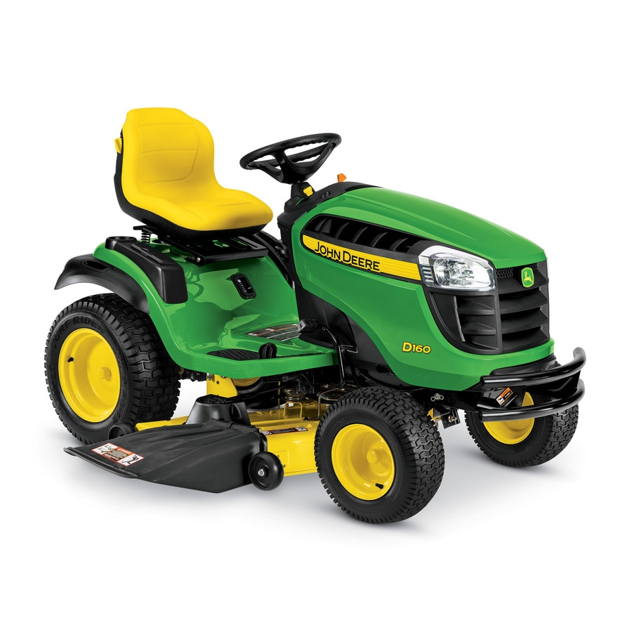 John Deere D160 Carb 25-HP V-Twin Hydrostatic 48-in Riding Lawn Mower (CARB)