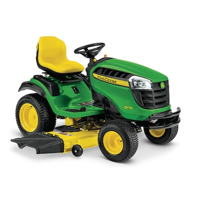 John Deere D170 25-HP V-twin Hydrostatic 54-in Riding Lawn