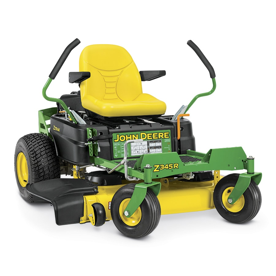 John Deere Z345R 22-HP V-Twin Dual Hydrostatic 42-in Zero-Turn Lawn Mower