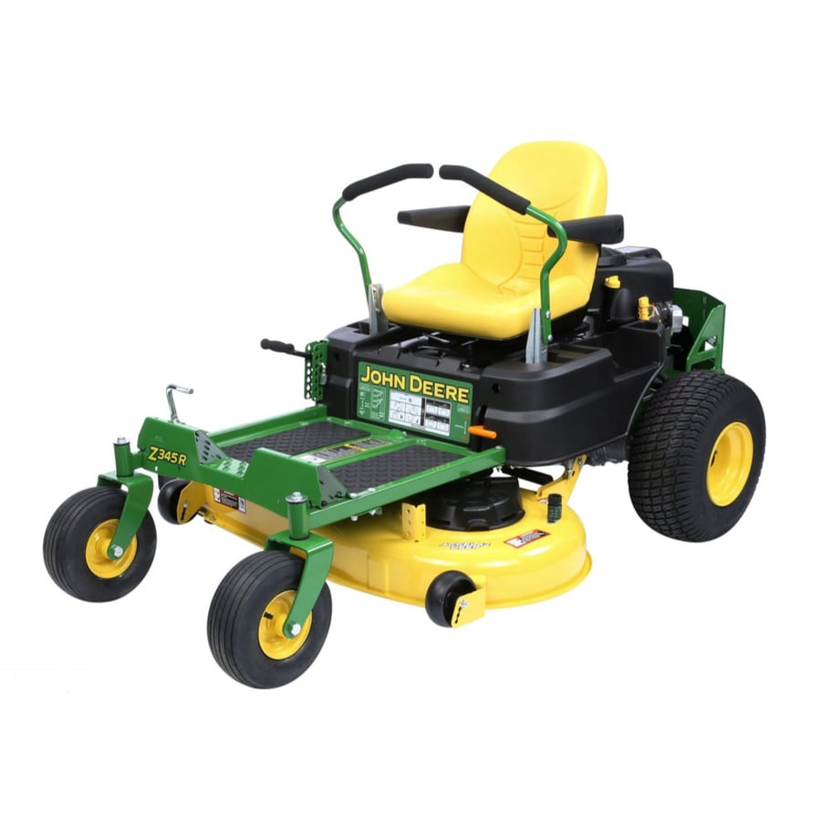 John Deere Z345R Carb 22-HP V-Twin Dual Hydrostatic 42-in Zero-Turn Lawn Mower (CARB)